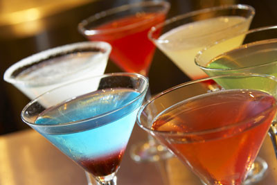 Enjoy a Specialty Martini this Evening at Papaspiros Restaurant.