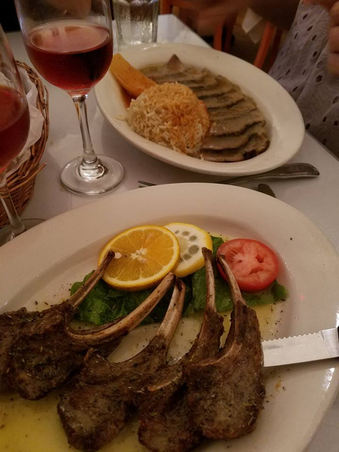 Enjoy All Your Favorites at Papaspiros Restaurant Tonight Like Arni Psito Sliced Lamb or a Lamb Chop