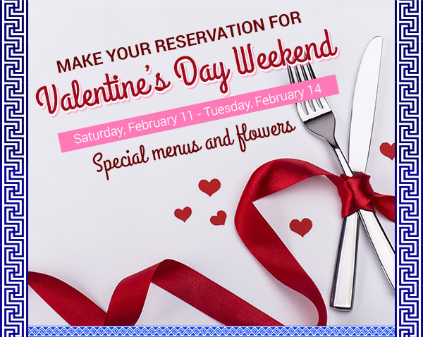 Celebrate Valentine's Day Week at Papaspiros!