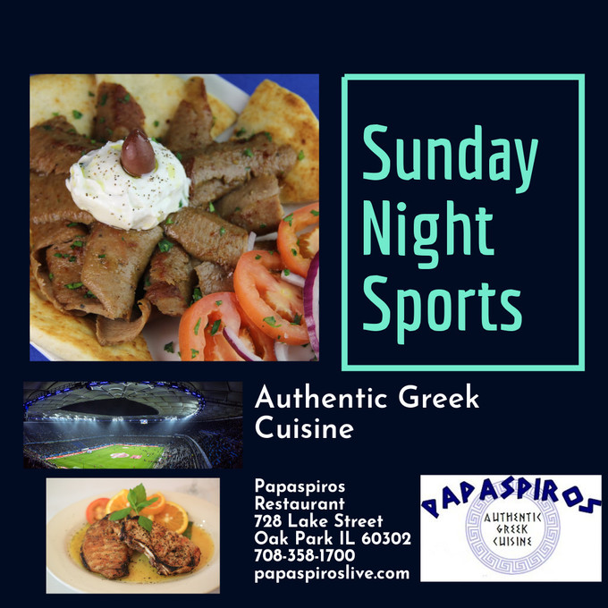 This Sunday Experience Excellence at Papaspiros Restaurant Authentic Greek Mediterranean Cuisine 728