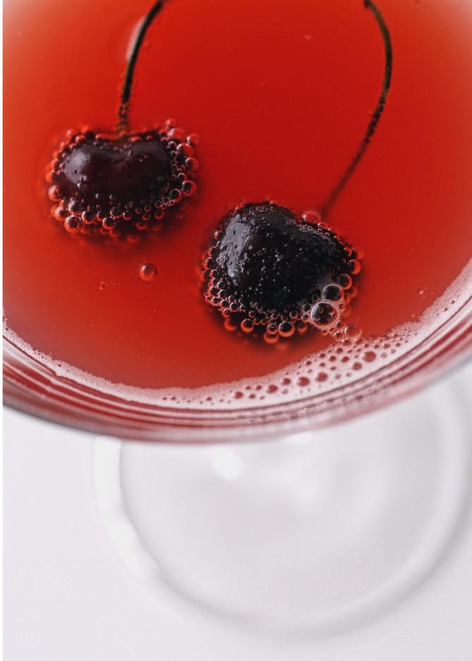 Enjoy a Delicious Signature Cosmopolitan This Evening at Papaspiros Restaurant! Opa!