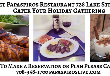 Holiday Catering at Papaspiros! Special New Year's Menu and Bouzouki Music from Demos! Opa! 728