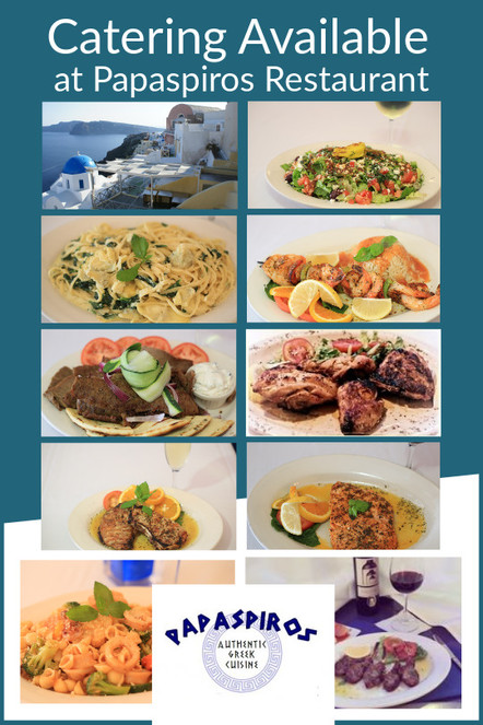 This Weekend Experience the Excellent Flavors of the Islands of Greece at Papaspiros 728 Lake Street