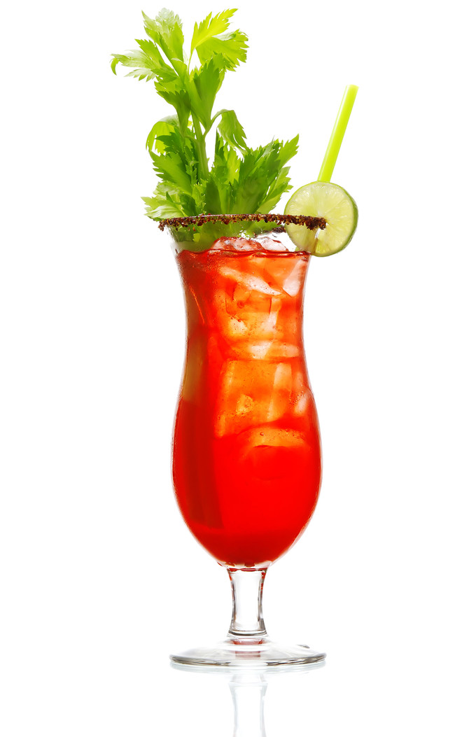 Try a Delicious Bloody Mary This Evening at Papaspiros Restaurant and Bar! Mild or Hot! Opa!