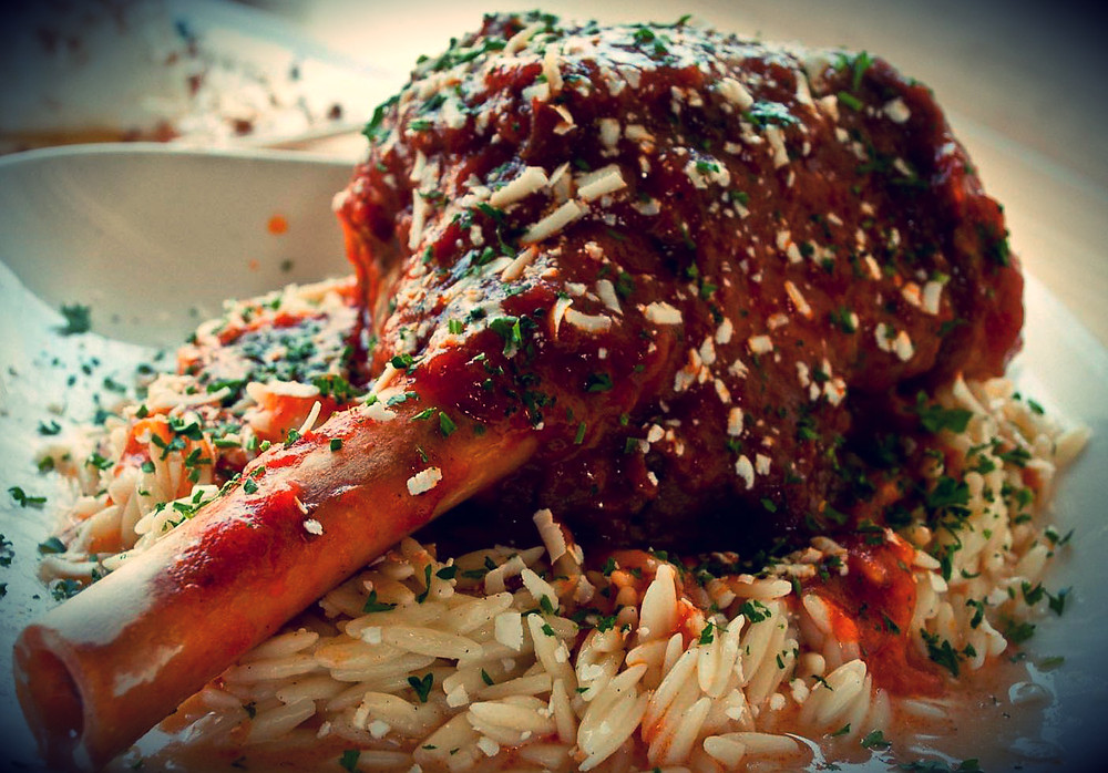 Kokonisto Leg of Lamb with Rice, Orzo or Potato