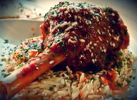 Enjoy Specials This Weekend at Papaspiros Like a 14 Oz New York Strip Steak, or Swordfish Kebab!