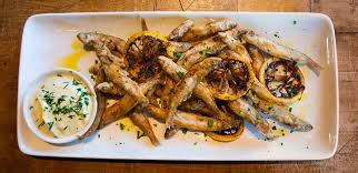 Enjoy Some Freshwater Smelts with Scordalia this Evening at Papaspiros!