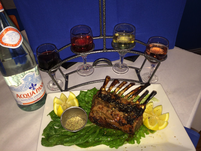 Join Us This Evening For Top of the House Beverage Selections with Your Greek Mediterranean Feast! O