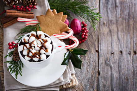 Enjoy Our Limited Time Holiday Coffee and Hot Chocolate Menu from Papaspiros 728 Lake Oak Park