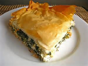 Spanakopita Golden Spinach Pie