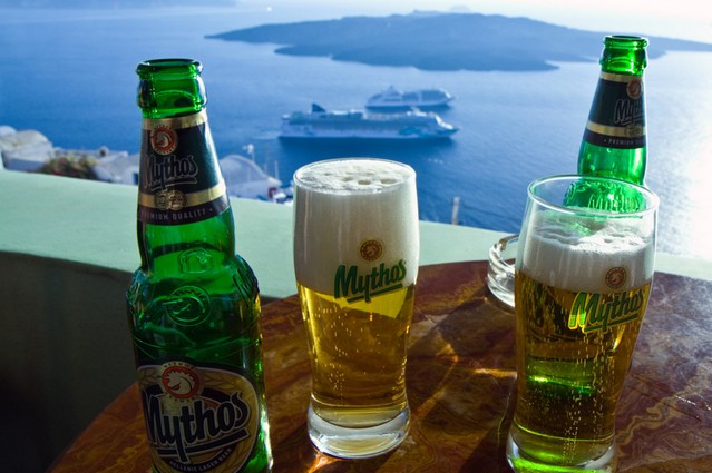 Join Us For an Excellent Dinner and Pair it with a Mythos Beer From Greece! Papaspiros 728 Lake St.