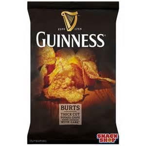 Burt's Guinness Thick Cut Chips