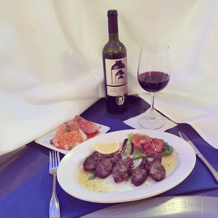 Try a Lamb Chop Dinner This Evening at Papaspiros Restaurant! Opa!