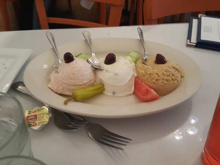 Join Us This Weekend at Papaspiros Restaurant! Create Your Own Greek Mediterranean Feast! Opa!