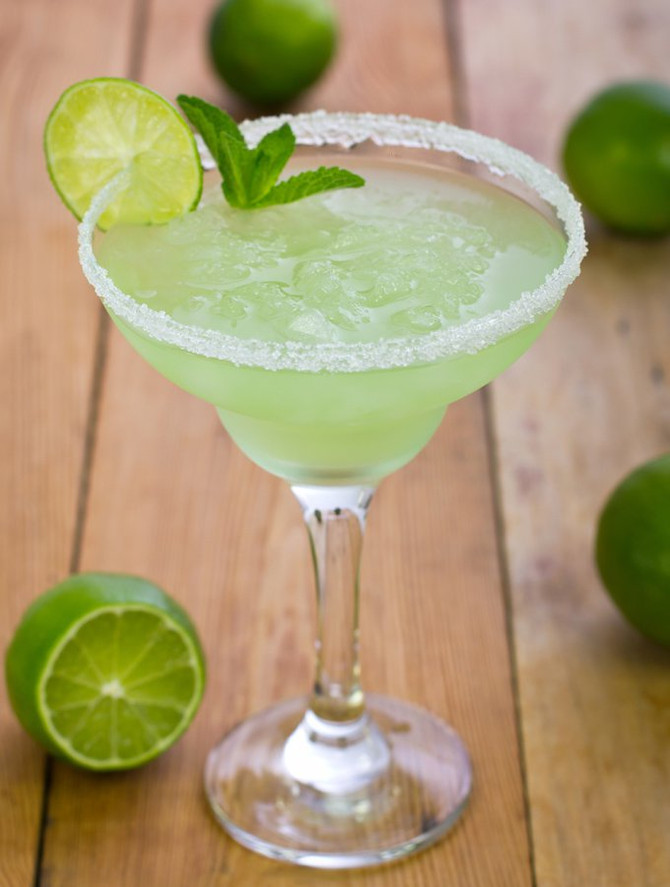 Enjoy an Ice Cold Margarita at Papaspiros Restaurant! Mojitos Available Also!