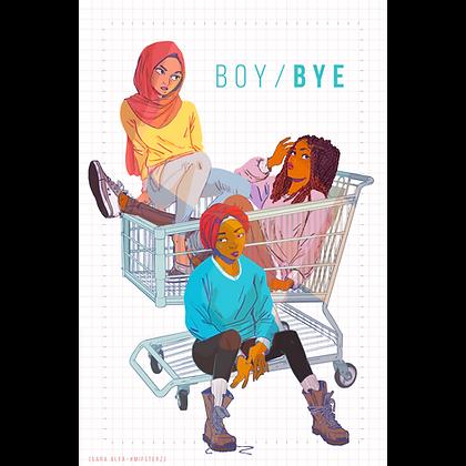 BOY/BYE Squad Digital Wallpaper