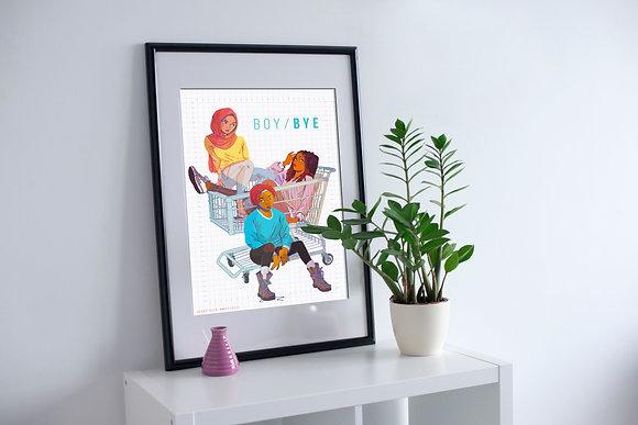BOY/BYE Squad Print (11 x 17)