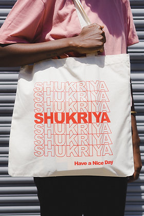 SHUKRIYA Tote Bag