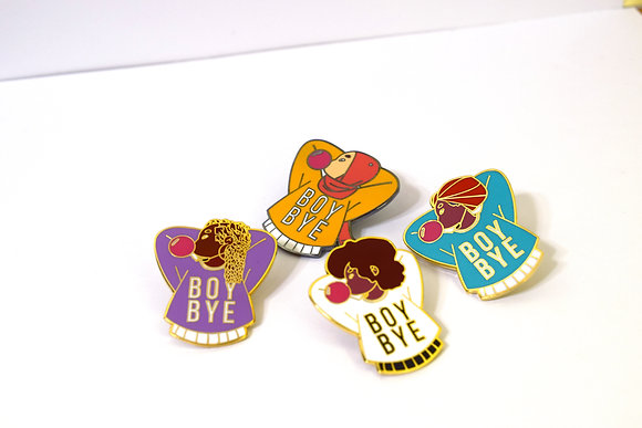 BOY/BYE Squad Pins Collection
