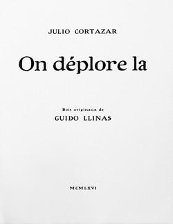 On Déplore là, 1965