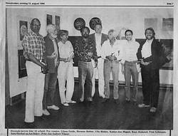 Fredrikstad Biennal jury, 1986