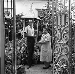 Guido Llinás and Amelia Peláez, 1963