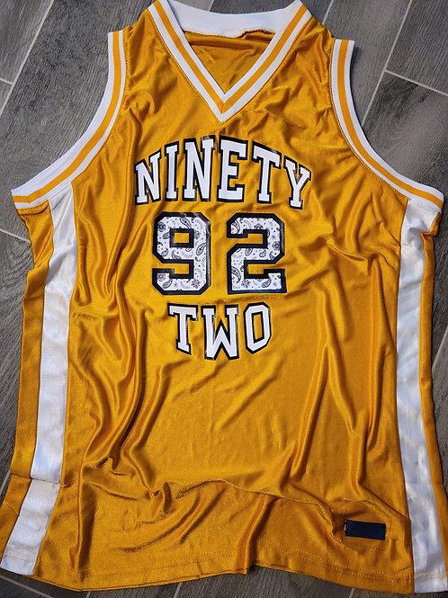 92 Vintage Basketball Jersey