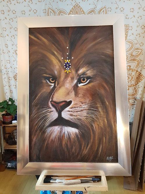 Animal de Poder: Leon Sagrado