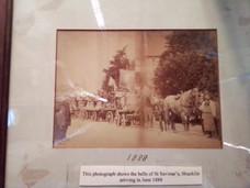 The bells arriving in June 1888