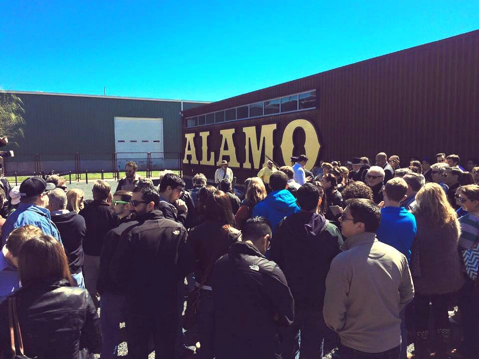 Alamo Beer Company Grand Opening