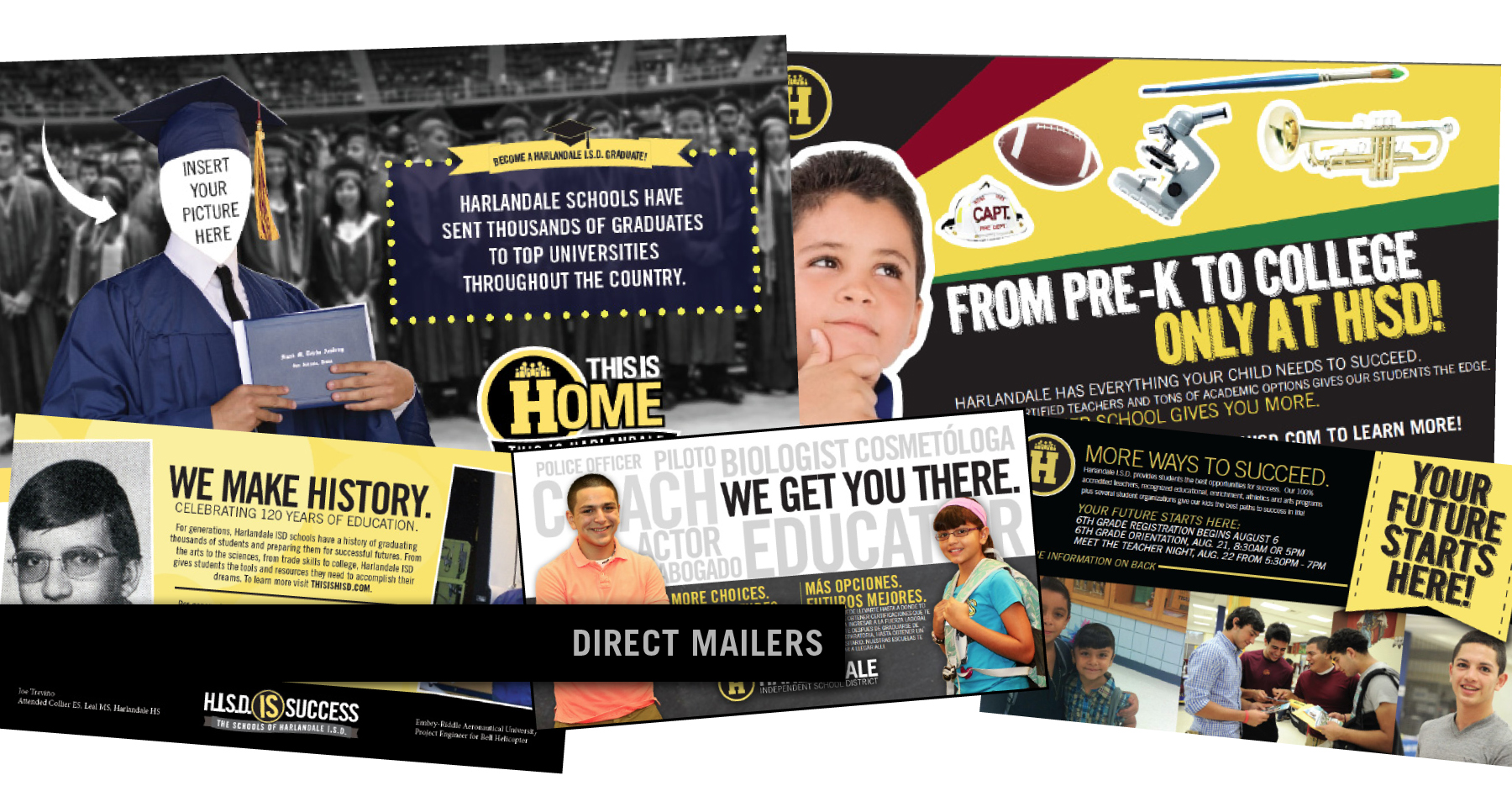Public Education Direct Mailers