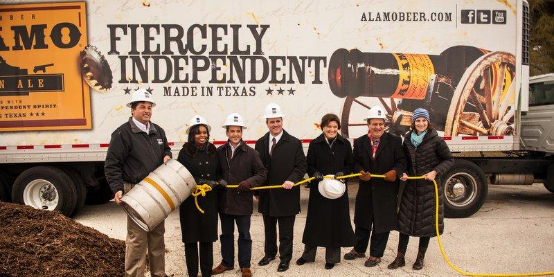 Alamo Beer Company Ground Breaking