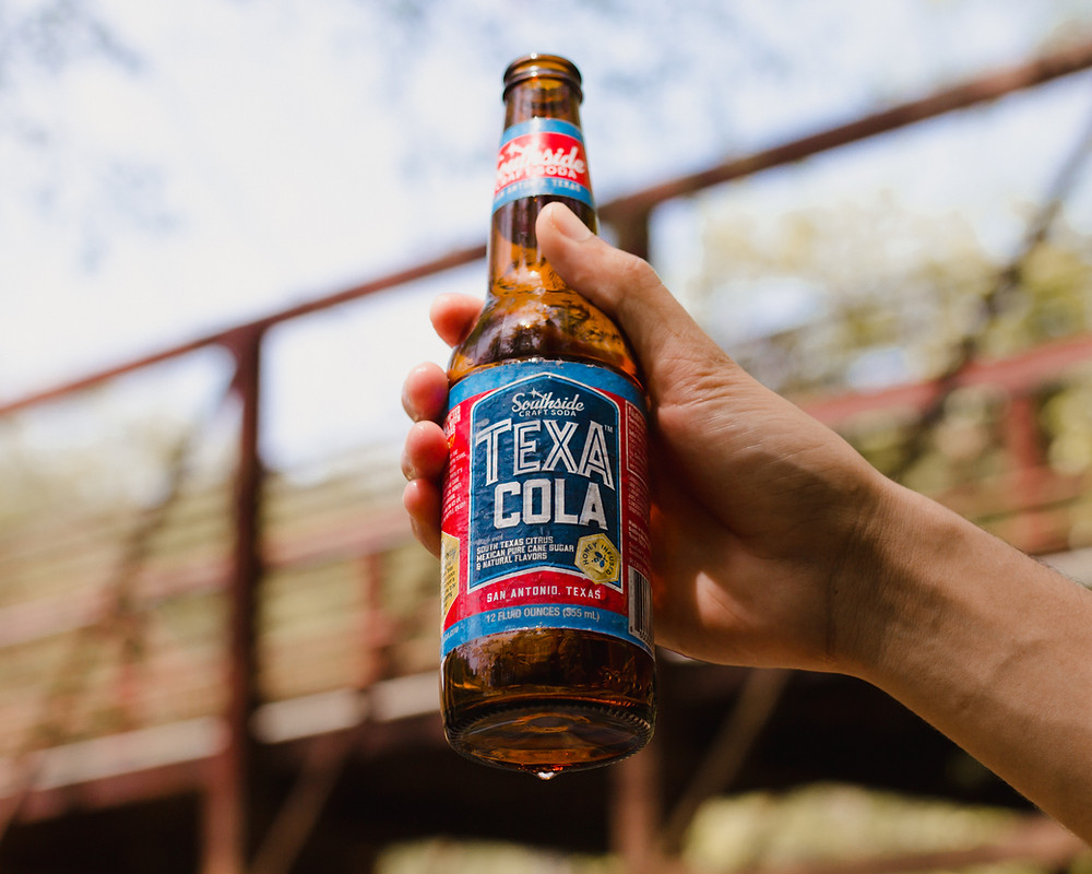 TexaCola, Craft Soda, Made in San Antonio, San Antonio, Texas, Valley Citrus, Cheers
