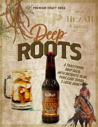 Root Bexar: Mesquite Bean Root Beer