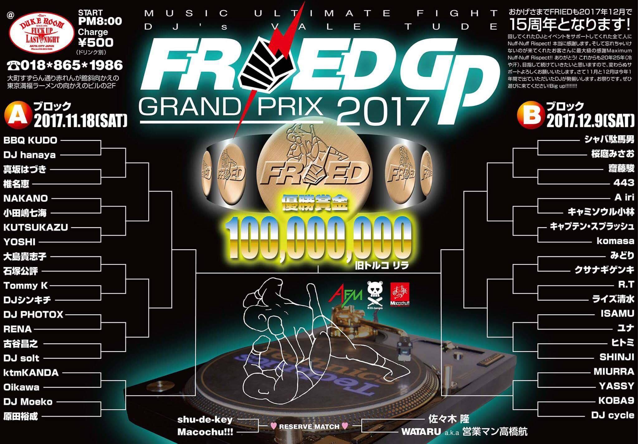 FRIED GP 2017