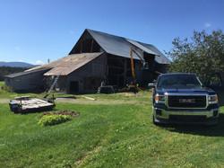 Demolition de grange en beauce