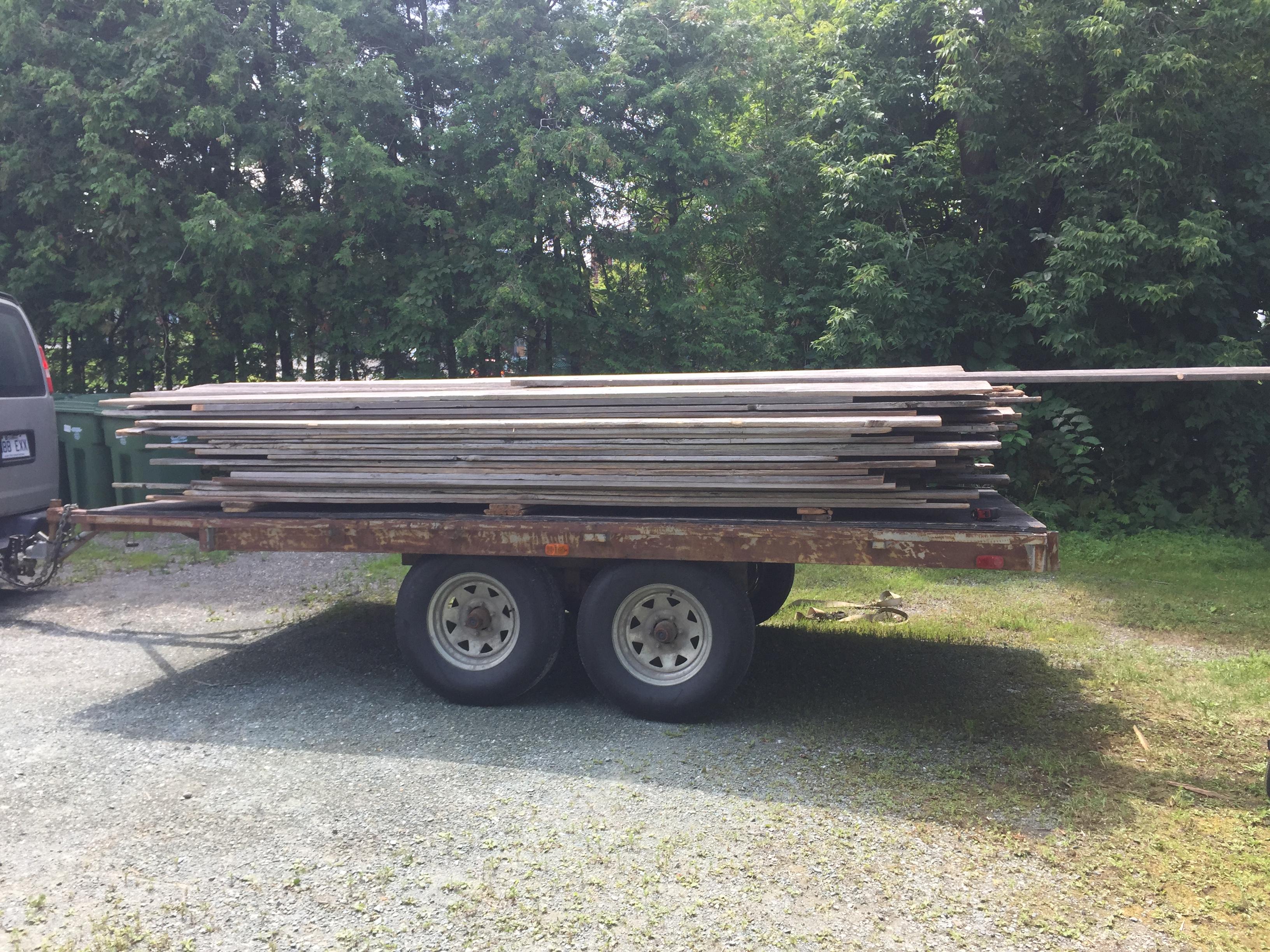 Achat de bois de grange