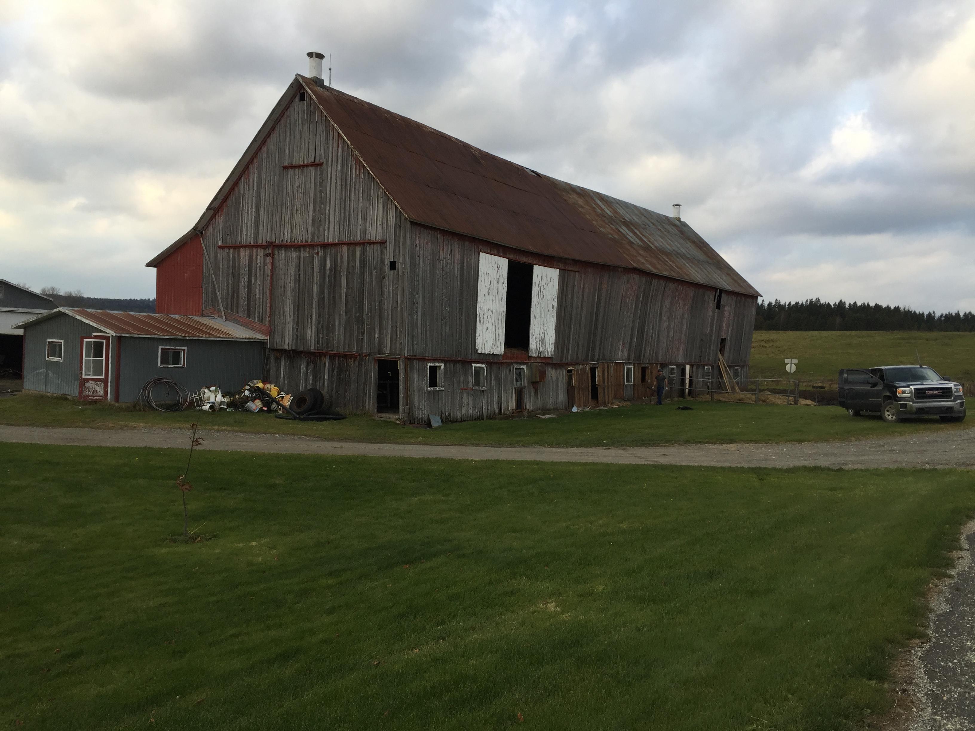 démolition de grange martinville