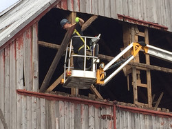 trauvaux demolition de grange