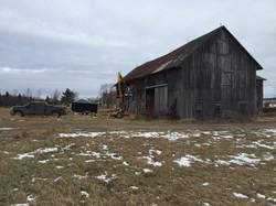 Demolition de grange lapocatière