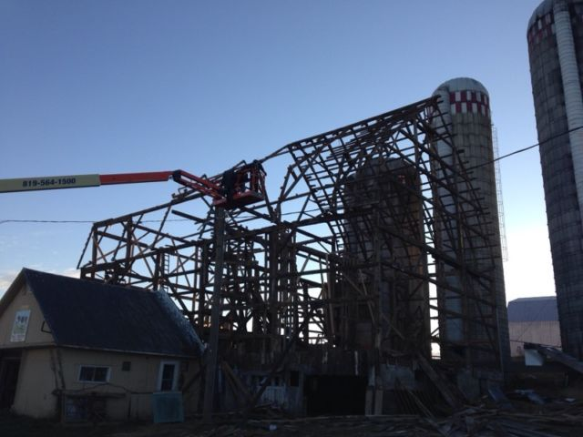 Démolition grange sherbrooke