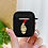 Thumbnail: Money Heist Silicone Matte Black Cover for Apple Airpods Series 1 & 2