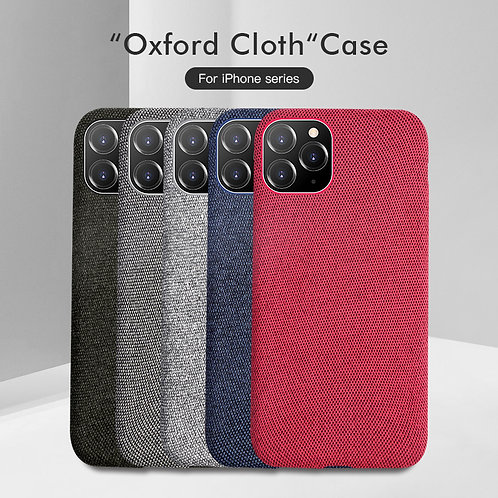 Luxury Plush Fabrics Soft Back Cover for iPhones