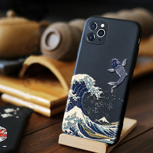 Wave 3D Phone Case for iPhones