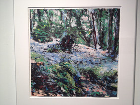 Mimi Oritsky: Rock and Tree Debris