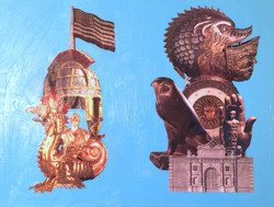 Diptych of Trophies