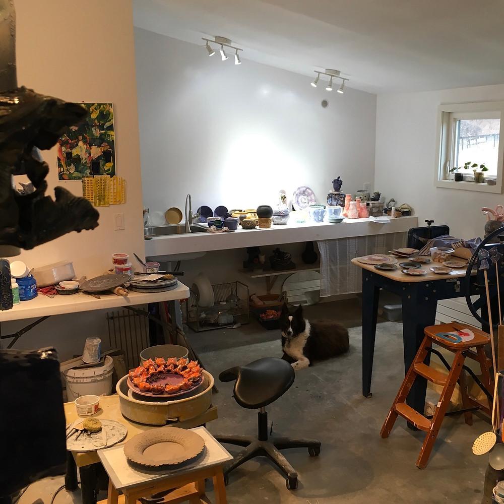 Irja Bodén studio shot