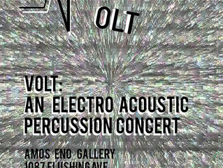 VOLT: An Electroacoustic Percussion Concert