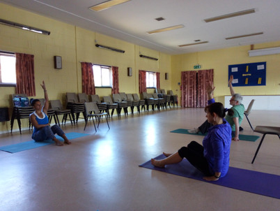 Our new venue for Yoga