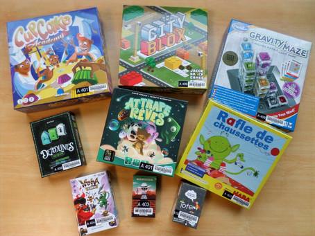 Encore plus de jeux à la médiathèque!